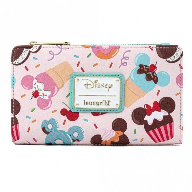 Loungefly X Disney: Mickey & Minnie Sweets Ice Cream Wallet