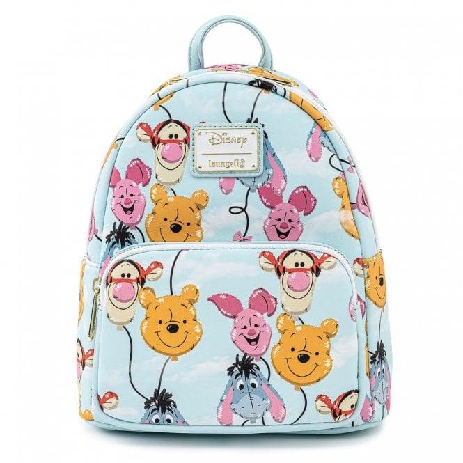 Loungefly X Winnie the Pooh: Balloon Friends Mini Backpack