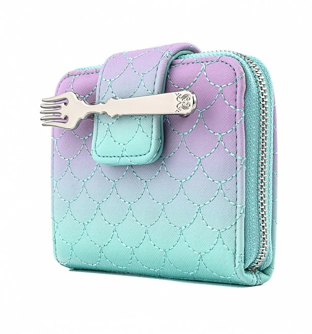 Loungefly X Disney: Little Mermaid Ombre Scales Wallet