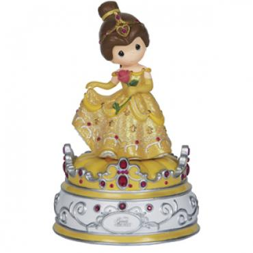 Precious Moments Beauty And Beast Music Box - 1441