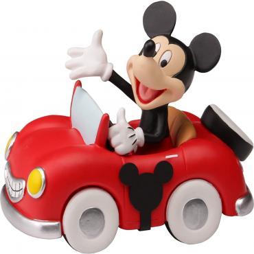 Precious Moments Disney Collectible Parade Mickey Figurine
