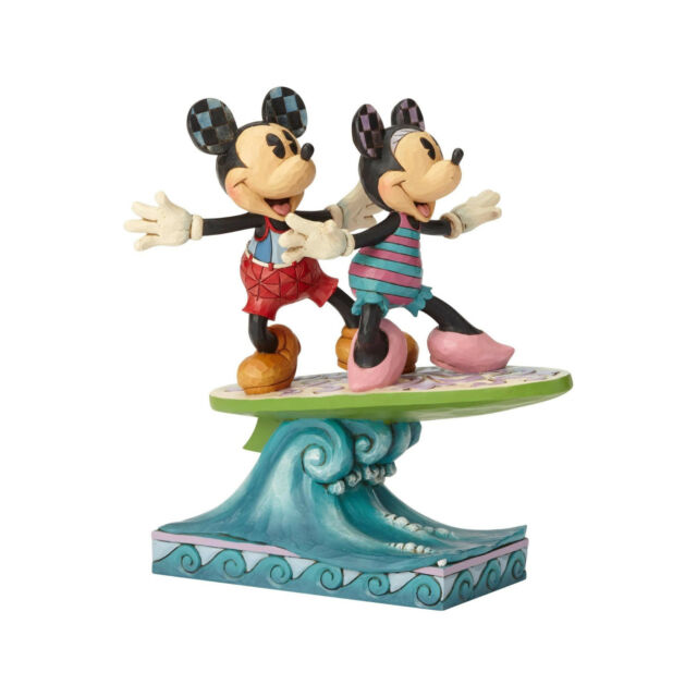 Disney Traditions Surf's Up Mickey & Minnie Mouse