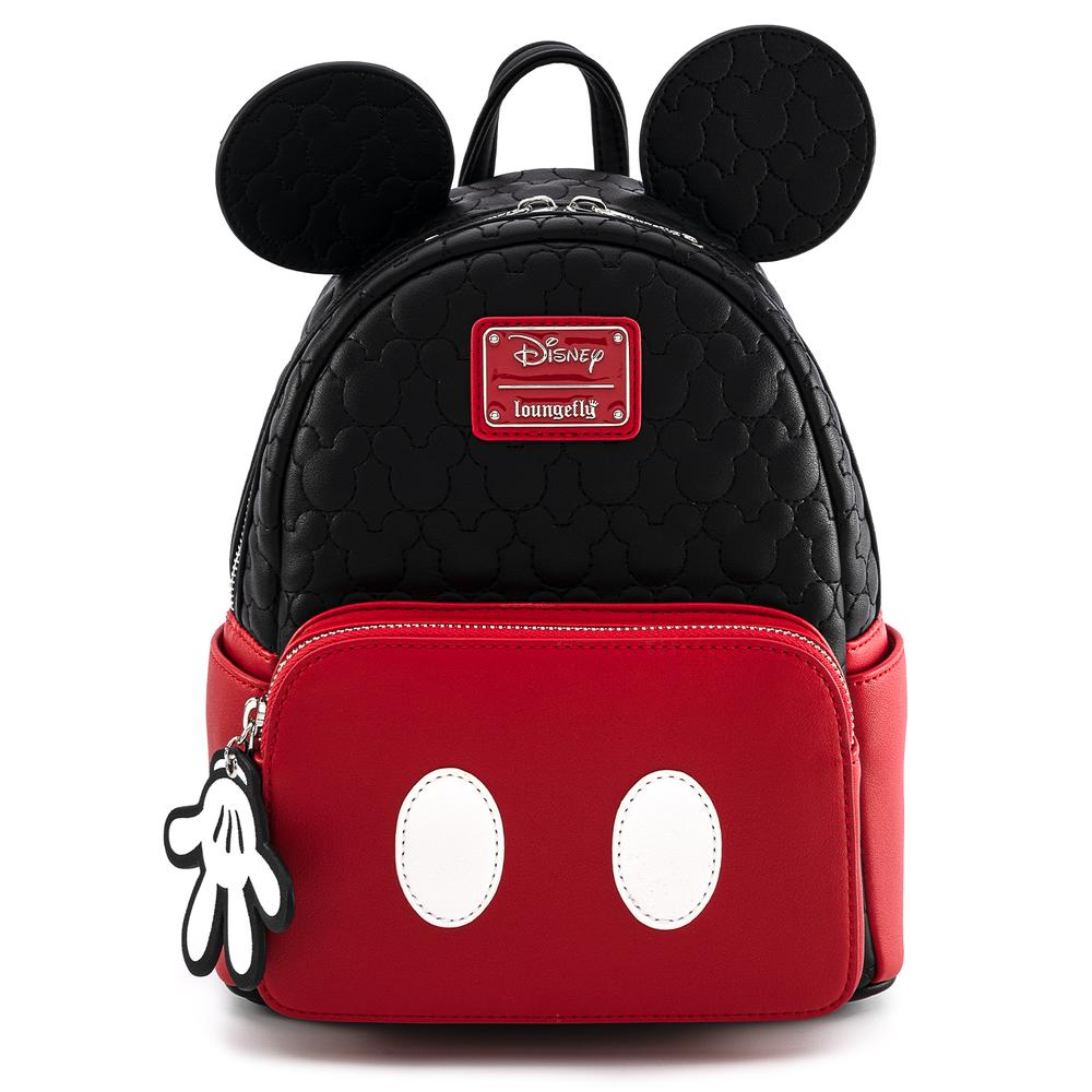 Loungefly Disney Mickey Mouse Quilted Cosplay Mini Backpack - WDBK1204
