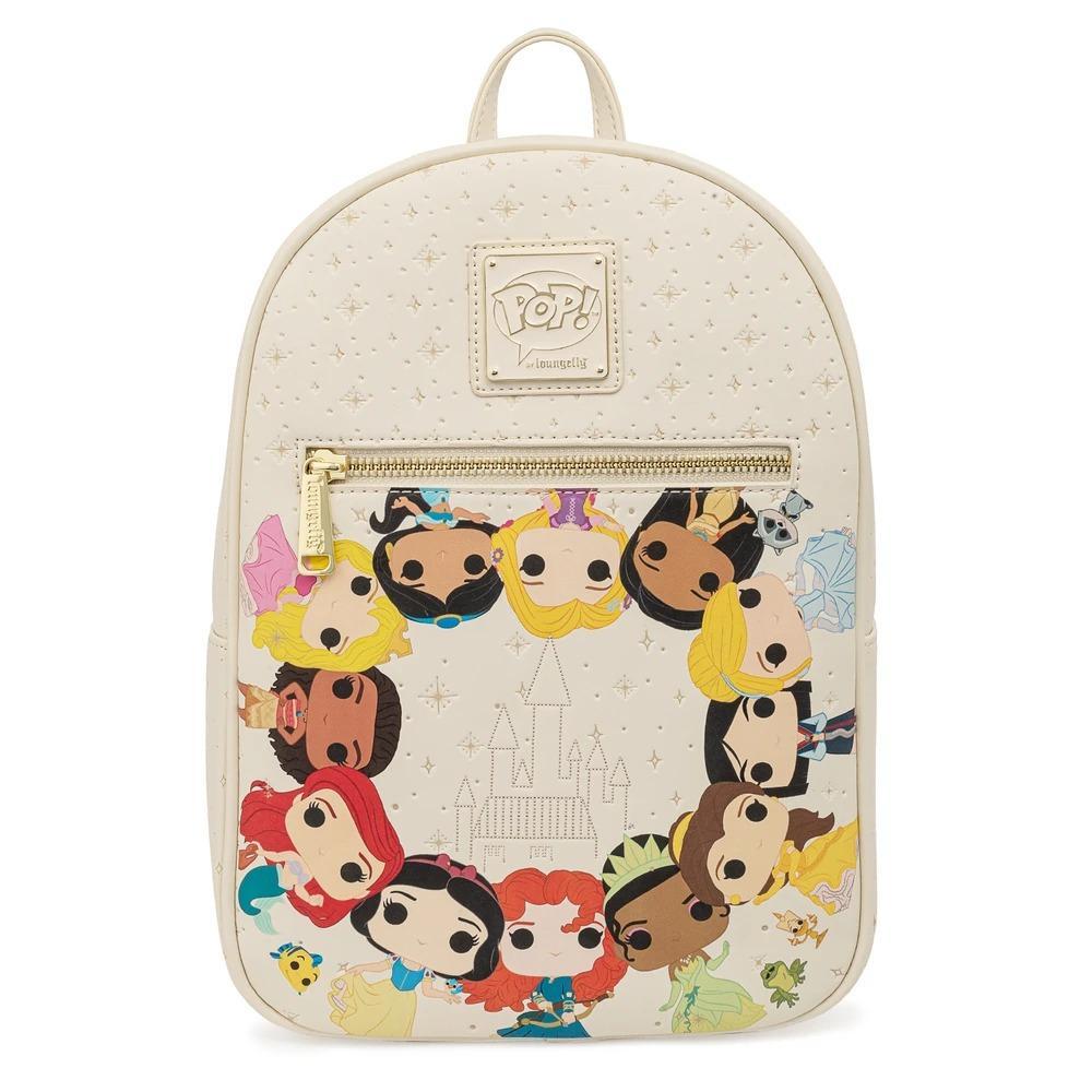 Pop By Loungefly Disney Princess Circle Mini Backpack