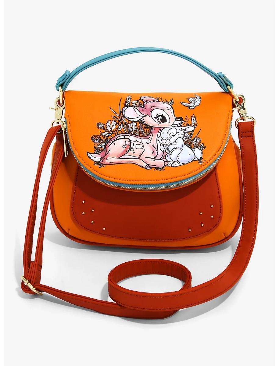 Disney Loungefly Crossbody Bag Bambi heo Exclusive