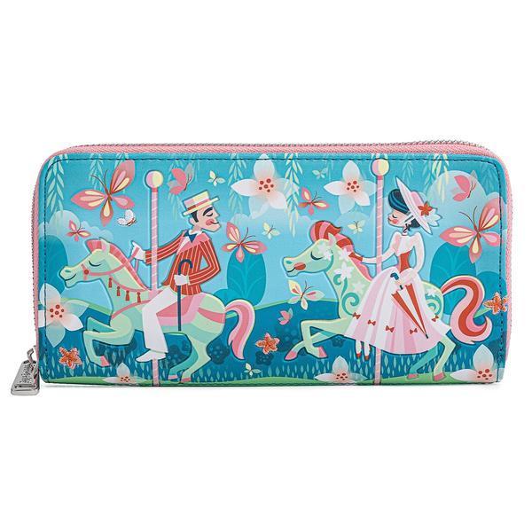 Loungefly Mary Poppins Jolly Holiday Zip Around Wallet - Disney