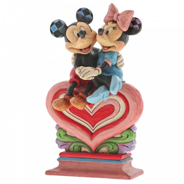 Disney Traditions Heart to Heart (Mickey Mouse and Minnie Mouse Figurine) - 6001282