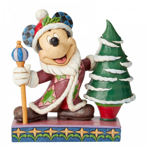 Disney Traditions Jolly Ol St Mick (Mickey Mouse Father Christmas) - 6002831