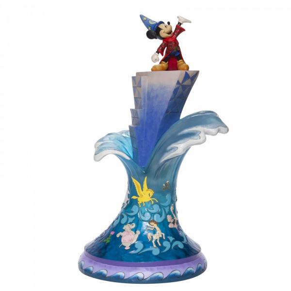 Disney Traditions Summit of Imagination (Sorcerer Mickey Masterpiece Figurine) - 6007053