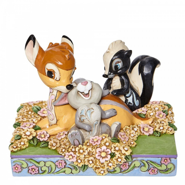 Disney Traditions Childhood Friends - Bambi and Friends Figurine - 6008318