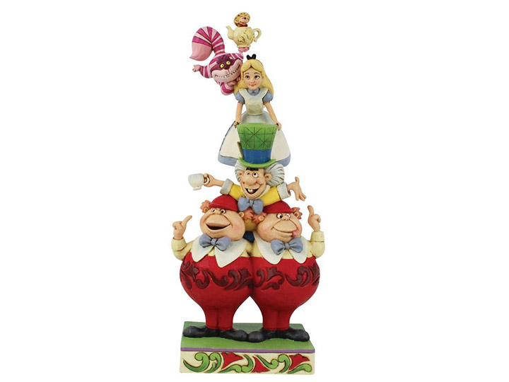Jim Shore Disney Traditions Alice in Wonderland Stacked - 6008997