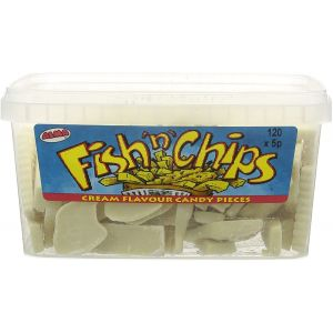 120 x Fish N Chips Sweets