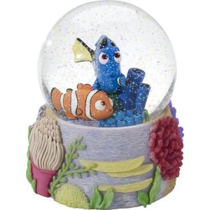 Precious Moments Disney and Pixar Finding Dory, Resin/Glass Snow Globe - 164705