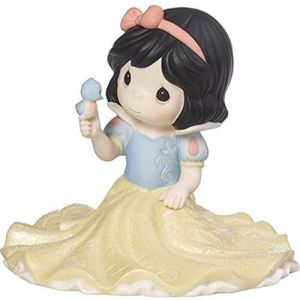 Precious Moments Disney Snow White Life Goes Along With A Smile And A Song - 173093