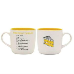 About Face Designs Banana Chocolate Chip Cake Mug - 187683