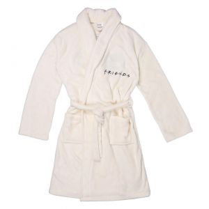 Dressing Gown Embroidery Coral Fleece Friends Adults - 2200006482