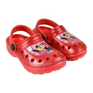 SPARKLY MINNIE CLOGS RED - 2300004423