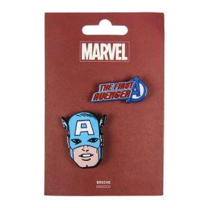 Marvel Captain America Brooch - 2600000554