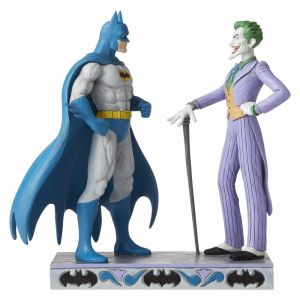 Jim Shore DC Comics Batman and The Joker Figurine - 6005982