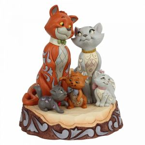 Disney Traditions Carved by Heart Aristocats Figurine - 6007057