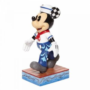 Disney Traditions Snazzy Sailor - Mickey Sailor Personality Pose Figurine - 6008079