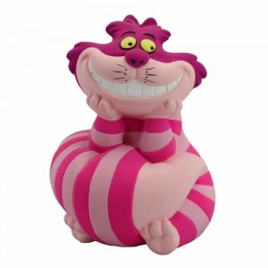 Disney Showcase Cheshire Cat Leaning On His Tail Mini Figurine - 6008696