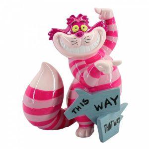 Disney Showcase This Way, That Way Cheshire Cat Figurine