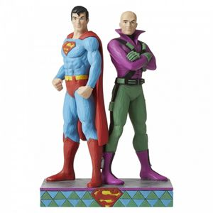 Superman and Lex Luthor Figurine 6005981