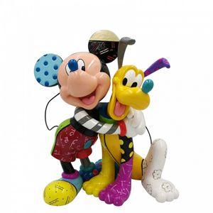 Disney Britto Mickey & Pluton Figurine - 6007094