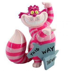 Disney Showcase This Way, That Way Cheshire Cat Figurine - 6008699