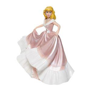 Disney Showcase Cinderella in Pink Dress Couture de Force Figurine - 6008704
