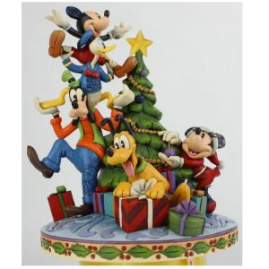 Disney Traditions Fab 5 Decorating the Tree - 6008979