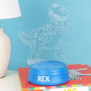 TOY STORY 4 REX LASER ETCHED LIGHT - DI610
