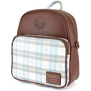 HPWA0040 Harry Potter Hogwarts Plaid Backpack