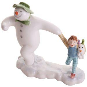 John Beswick Snowman Taking Off - JBS15