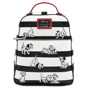 WDBK0938 101 Dalmations Striped Mini Backpack