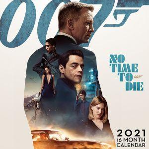 James Bond (No Time To Die) 2021  Calendar - C21004