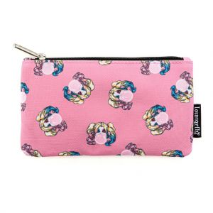 Loungefly DC Harley Quinn Bubble Gum AOP Pouch - DCCCB0008
