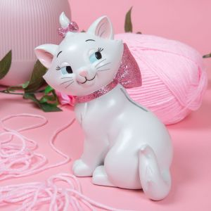 Disney Oui Marie Hand Painted Collectable Money Bank - DI770