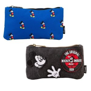 2 x Loungefly Pouches - Blue and Black
