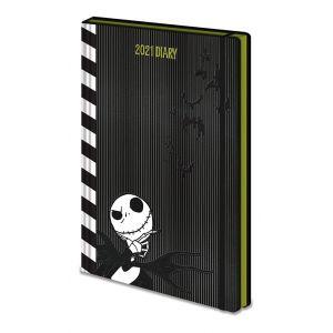 SR73184 Nightmare Before Christmas (Black & White) 2021 Diary