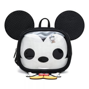 Funko Pop by Loungefly Mickey and Minnie Mouse Pin Trader Cosplay Mini Backpack