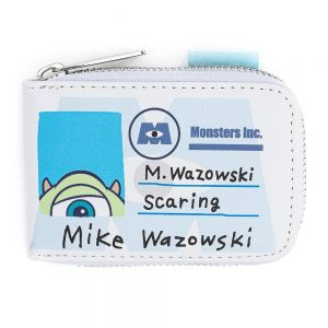 Loungefly Pixar Monsters inc Mike and Sully Accordian Cardholder - WDWA1296