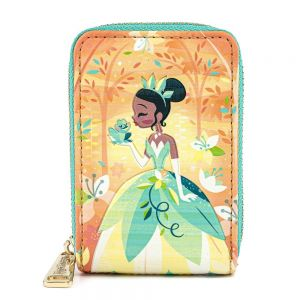 Loungefly Disney Princess and the Frog Tiana Accordian Wallet - WDWA1458