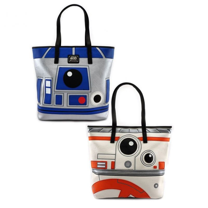 Loungefly Star Wars R2D2 BB8 2 Sided Tote Bag
