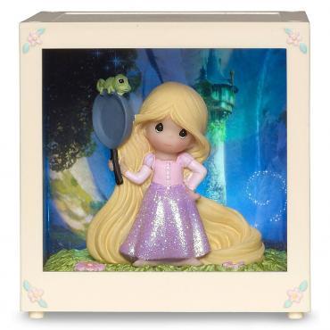 Precious Moments Rapunzel Shadow Box