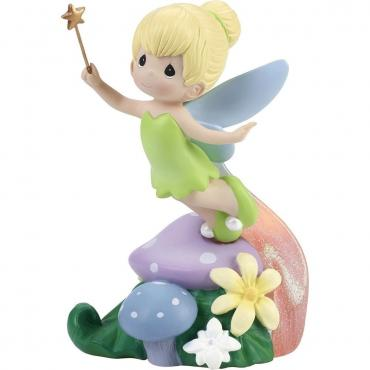 Precious Moments Disney Tinker Bell Figurine, LED, Resin - 182474