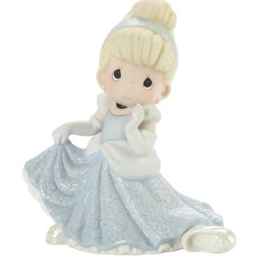 Precious Moments Disney Don't Let The Magic Slip Away Cinderella Figurine - 201061