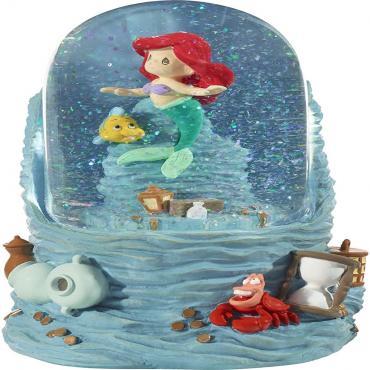 Precious Moments Little Mermaid Musical Snow Globe - 201114
