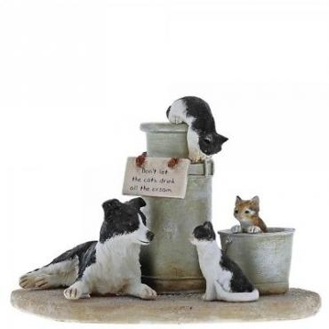 Kitchy & Co Cats That Got The Cream A29023